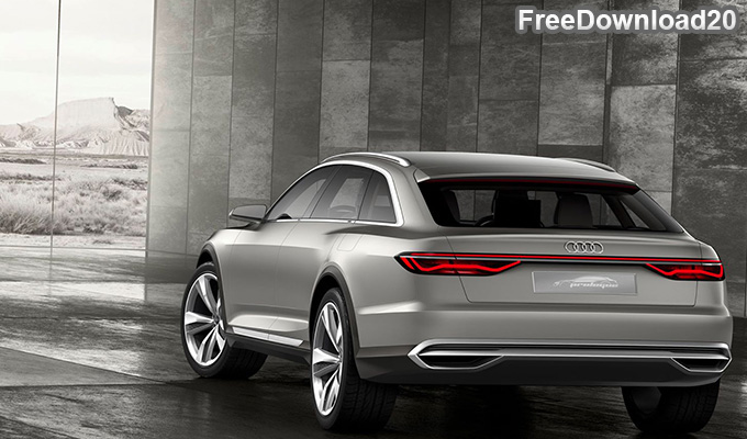 Audi A6 Prologue Avant 2017 Back
