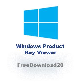 Windows Product Key Viewer 2016