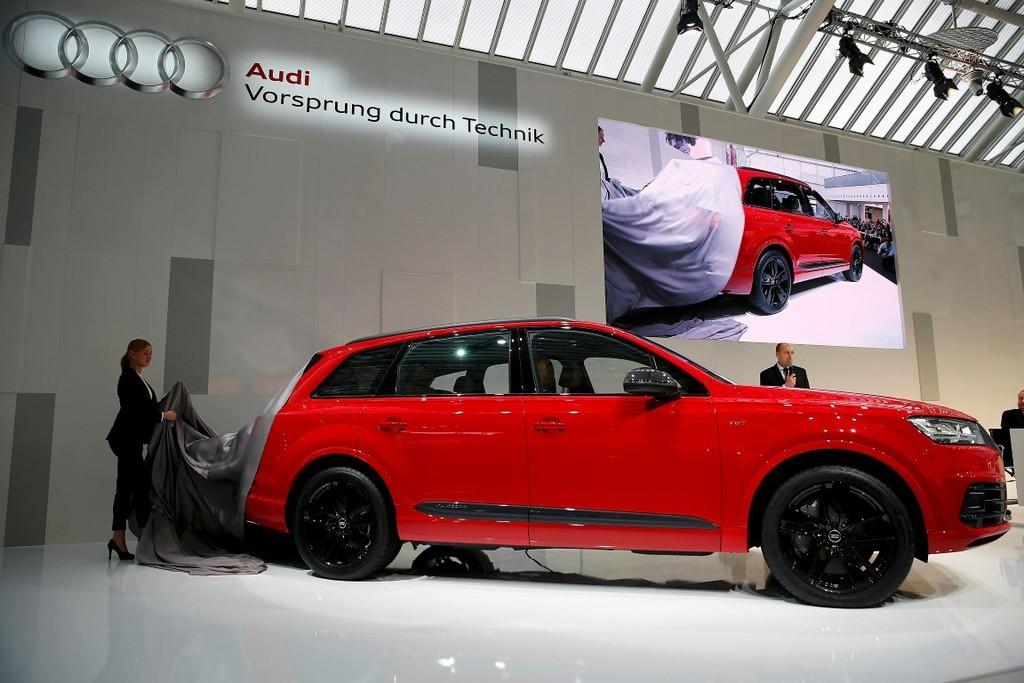 Audi SQ7 Quattro 2017